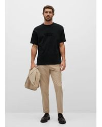Mango - T-shirt relaxed-fit message - Lyst