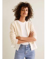 Mango - Combined Cotton Jacket - Lyst