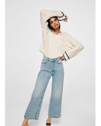 Mango - Vintage Relaxed Jeans - Lyst