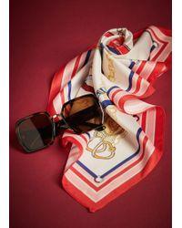 Violeta by Mango Tortoiseshell Retro Sunglasses - Brown