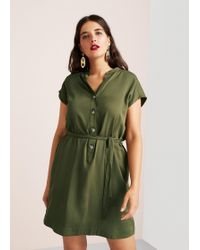 Violeta by Mango - Buttoned Dress - Lyst