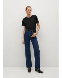 Mango - T-shirt coton bio - Lyst