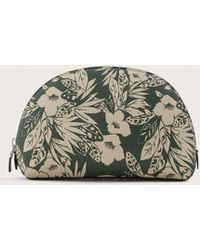 Violeta by Mango - Floral Jungle Saffiano-effect Cosmetic Bag - Lyst