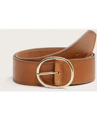 Violeta by Mango - Buckle Leather Belt - Lyst