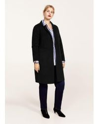 Violeta by Mango - Texturised Unstructured Coat - Lyst