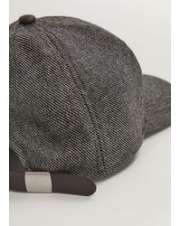 Mango Flecked Cap - Grey