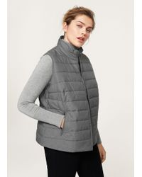 Violeta by Mango | Quilted Gilet | Lyst