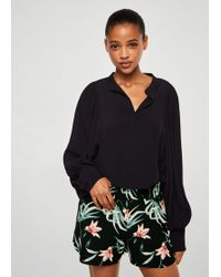Mango - Printed Shorts - Lyst