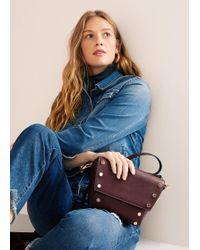 Violeta by Mango - Stud Cross Body Bag - Lyst