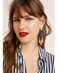 Violeta by Mango - Resin Earrings - Lyst