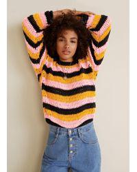 Mango - Chunky-knit Sweater - Lyst
