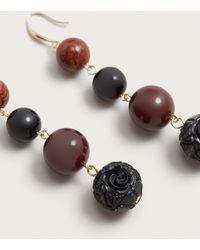 Violeta by Mango | Beaded Pendant Earrings | Lyst