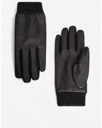 Mango - Laser-cut Gloves - Lyst
