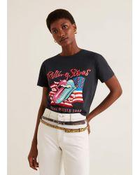 Mango - The Rolling Stones T-shirt - Lyst
