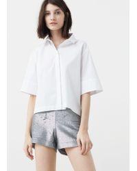 Mango | Sequin Shorts | Lyst