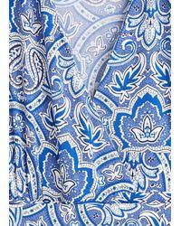 Mango Langer, bedruckter overall - Blau
