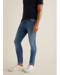 Mango - Skinny Light Wash Jude Jeans - Lyst