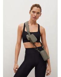 Mango Detachable Multi-purpose Bag - Black