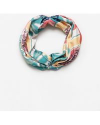 Mango   Printed Headband   Lyst