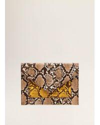 Mango - Snake-effect Envelope - Lyst