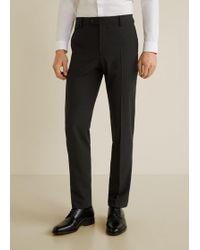 Mango - Slim-fit Travel Suit Trousers - Lyst