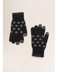 Mango - Touch-screen Gloves - Lyst
