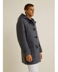 Mango - Tusk Buttons Wool Coat - Lyst