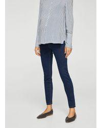 Mango - High Waist Jeans - Lyst