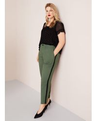 Violeta by Mango - Pocket Baggy Trousers - Lyst