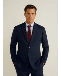 Mango - Slim-fit Travel Suit Blazer - Lyst