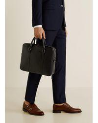 Mango - Detachable Strap Tote Bag - Lyst