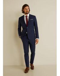 Mango Katoenen Tailored Regular-fit Overhemd - Wit