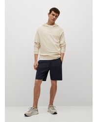 Mango Sustainable Cotton Hoodie - Natural