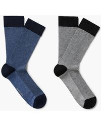 Mango - 2 Pack Patterned Socks - Lyst
