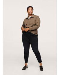Violeta by Mango Jeans skinny push-up - Nero
