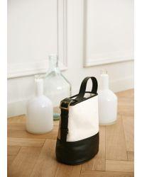Violeta by Mango - Contrasting Bag - Lyst