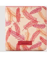 Mango - Printed Wallet - Lyst