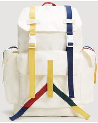 Mango - Colored Trims Pockets Backpack - Lyst