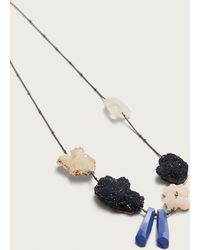 Violeta by Mango   Mineral Necklace   Lyst
