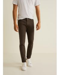 Mango - Slim-fit Colored Alex Jeans - Lyst