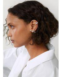 Mango Set Ear Cuffs - Metallic