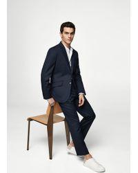 Mango - Regular-fit Suit Trousers - Lyst