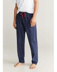 Mango Cotton Pyjama Pack - Blue