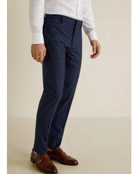 Mango - Super Slim-fit Suit Pants - Lyst