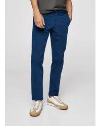 Mango - Slim-fit 5 Pocket Garment-dyed Trousers - Lyst