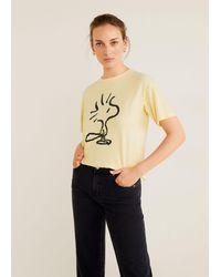 Mango Peanuts T-shirt - Yellow