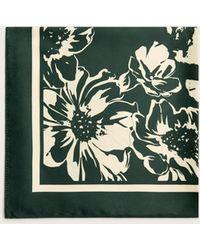 Violeta by Mango - Printed Satin Scarf - Lyst