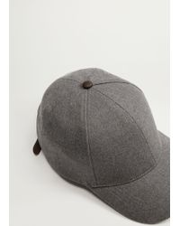 Mango - Baseball Cap - Lyst