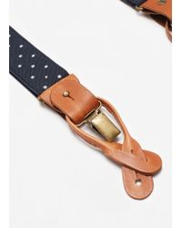 Mango | Adjustable Elastic Braces | Lyst