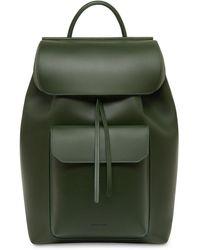 Mansur Gavriel Calf Technical Backpack - Green